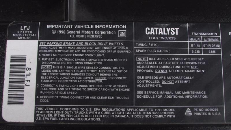 1991 GMC Sierra 1500 2dr C1500 Extended Cab SB - Black River Falls WI