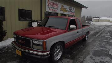 1991 GMC Sierra 1500 for sale at Toybox Rides in Black River Falls WI