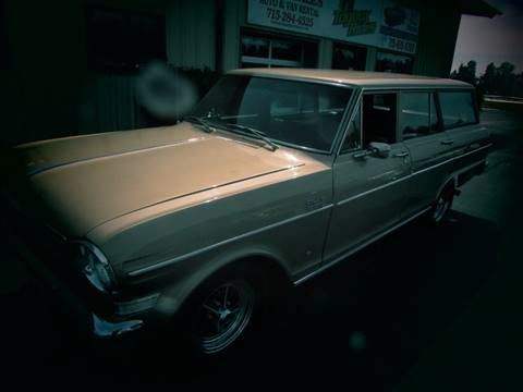 1964 Chevrolet Nova for sale at Toybox Rides in Black River Falls WI