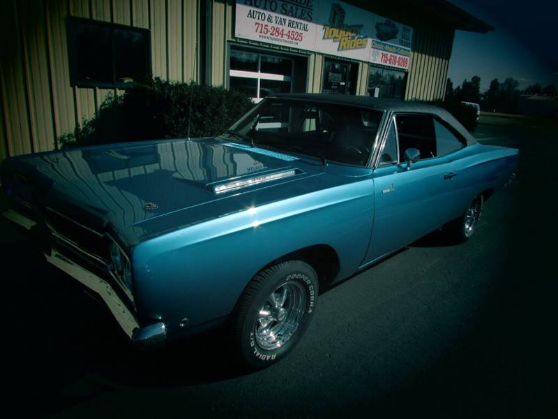 1968 Plymouth Roadrunner for sale at Toybox Rides in Black River Falls WI