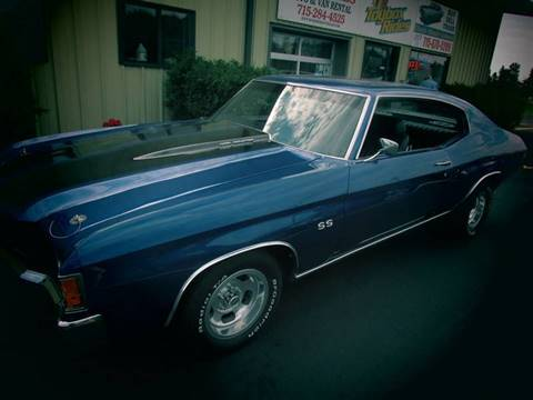 1971 Chevrolet Chevelle for sale at Toybox Rides in Black River Falls WI