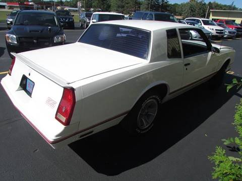 1988 Chevrolet Monte Carlo For Sale Carsforsale Com