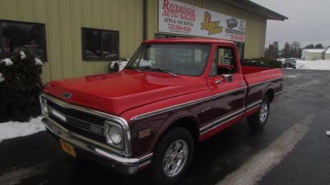 1970 Chevrolet C/K 10 Series for sale at Toybox Rides in Black River Falls WI