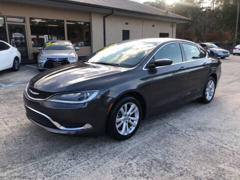 2016 Chrysler 200 for sale in Valdosta, GA