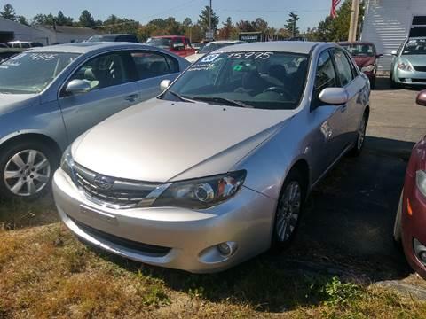 2008 Subaru Impreza for sale in Plaistow, NH