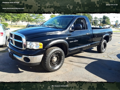 2004 Dodge Ram Pickup 1500 SLT for sale at Plaistow Auto Group in Plaistow NH