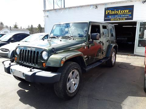 2009 Jeep Wrangler Unlimited for sale in Plaistow, NH