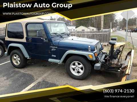 2000 Jeep Wrangler for sale in Plaistow, NH