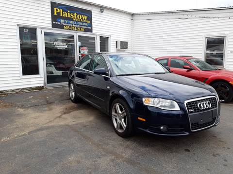 2008 Audi A4 for sale at Plaistow Auto Group in Plaistow NH