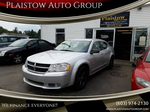 2008 Dodge Avenger for sale at Plaistow Auto Group in Plaistow NH