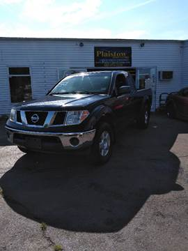 2008 Nissan Frontier SE V6 for sale at Plaistow Auto Group in Plaistow NH