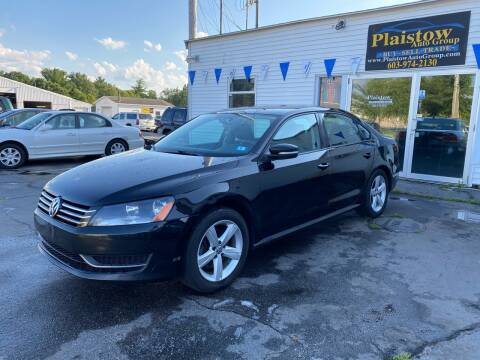 2013 Volkswagen Passat for sale at Plaistow Auto Group in Plaistow NH