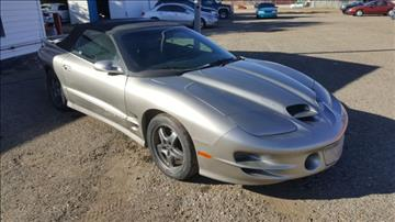 2002 Pontiac Firebird for sale in Prescott Valley, AZ