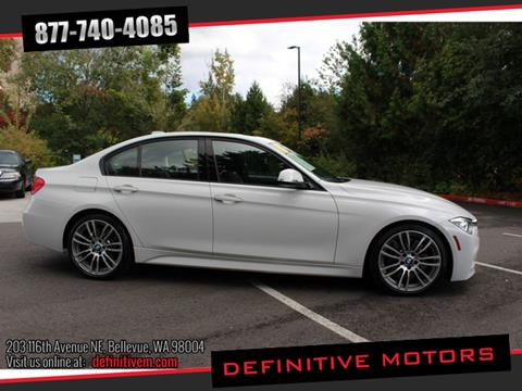 2014 BMW 3 Series for sale in Bellevue, WA