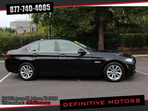 2014 BMW 5 Series for sale in Bellevue, WA