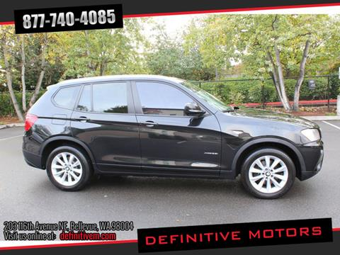 2014 BMW X3 for sale in Bellevue, WA