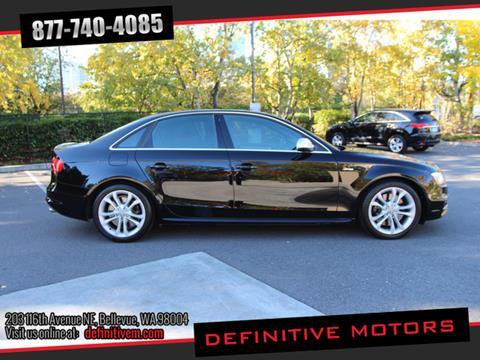 2013 Audi S4 for sale in Bellevue, WA