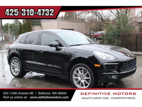 2017 Porsche Macan for sale in Bellevue, WA