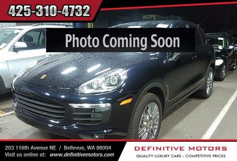 2018 Porsche Cayenne for sale in Bellevue, WA