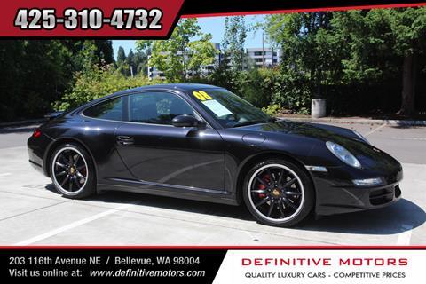 2008 Porsche 911 for sale in Bellevue, WA