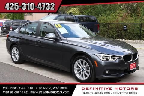2018 BMW 3 Series for sale in Bellevue, WA