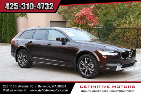 2017 Volvo V90 Cross Country for sale in Bellevue, WA