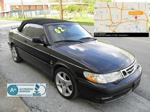 2002 Saab 9-3 for sale in Houston, TX