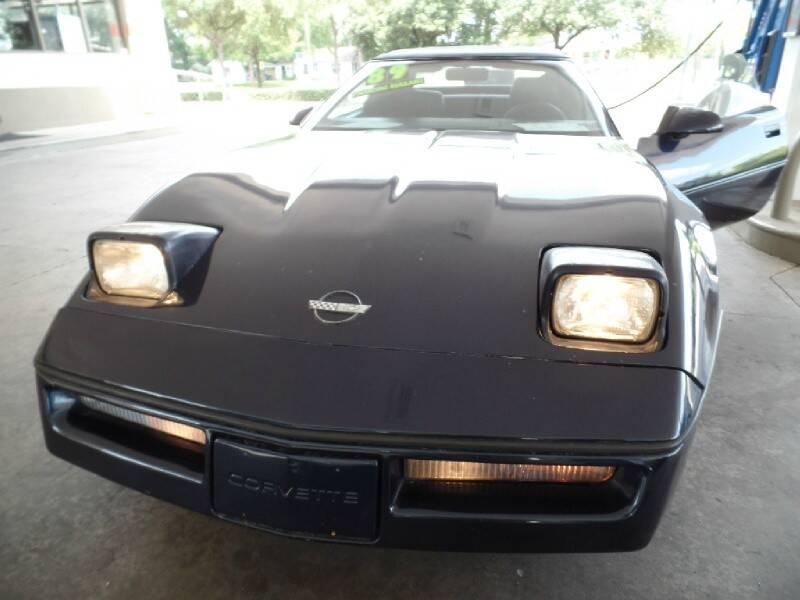 1989 Chevrolet Corvette 2dr Convertible - Houston TX