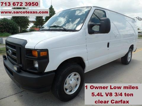 2011 Ford E-Series Cargo for sale in Houston, TX