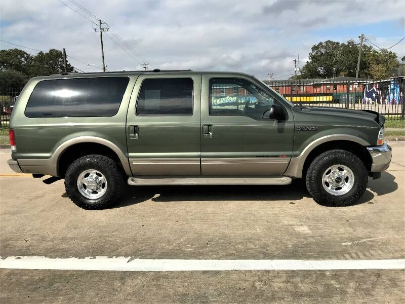 2000 Ford Excursion 4dr Limited 4WD SUV - Houston TX