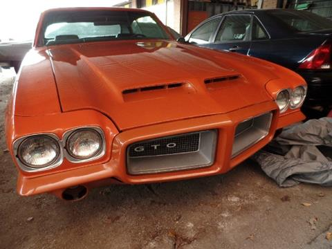 1972 Pontiac GTO for sale in Houston, TX