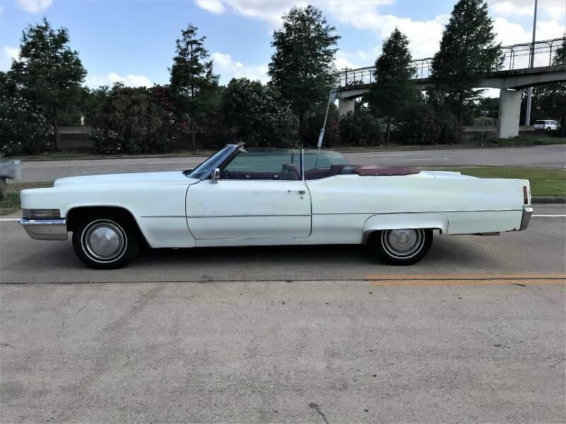 1970 Cadillac DeVille convertible - Houston TX