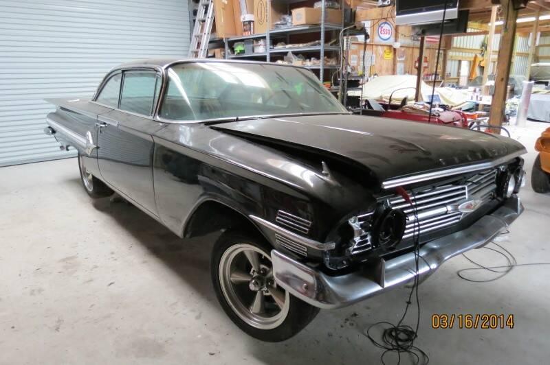 1960 Chevrolet Impala 2dr bubble top - Houston TX