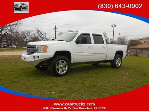 2012 GMC Sierra 2500HD for sale in New Braunfels, TX