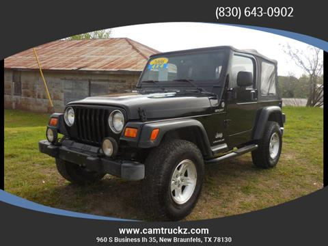 2006 Jeep Wrangler for sale in New Braunfels, TX