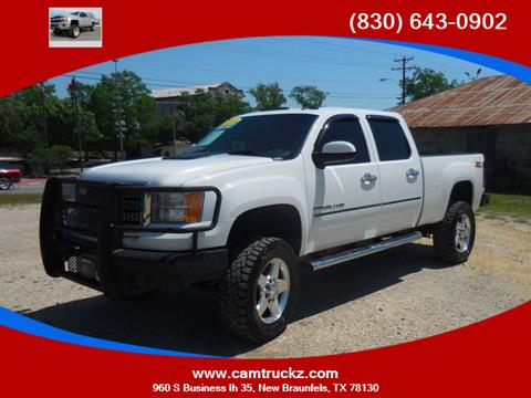 2011 GMC Sierra 2500HD for sale in New Braunfels, TX
