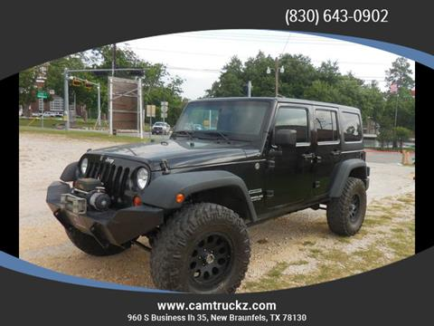 2012 Jeep Wrangler Unlimited for sale in New Braunfels, TX
