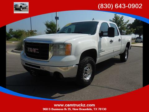 2009 GMC Sierra 2500HD for sale in New Braunfels, TX