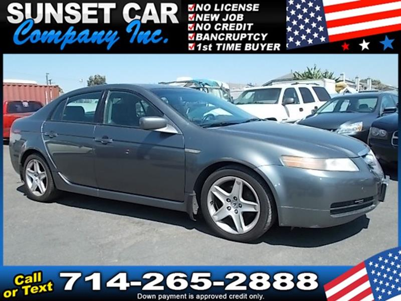 Acura Tl FWD With Navigation In Santa Ana CA Sunset Car - 2005 acura tl navigation update