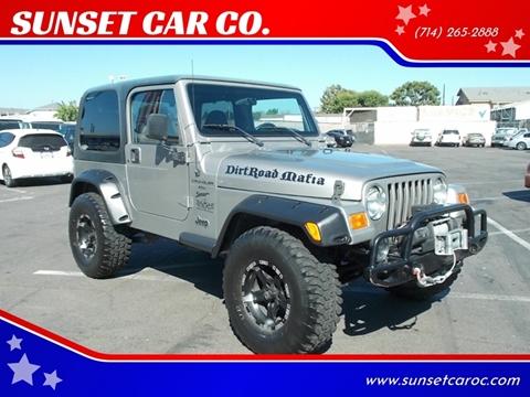 2000 Jeep Wrangler for sale in Santa Ana, CA
