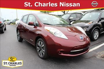2017 Nissan LEAF for sale in Saint Peters, MO