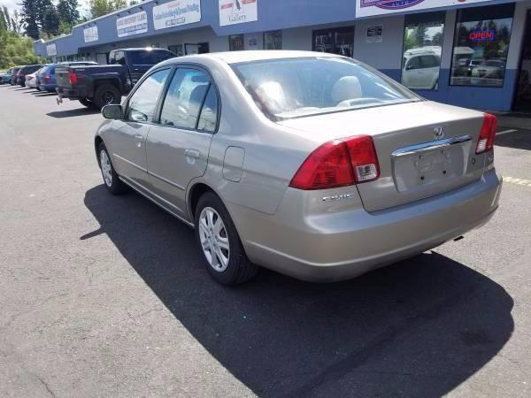 2003 Honda Civic EX 4dr Sedan - Vancouver WA