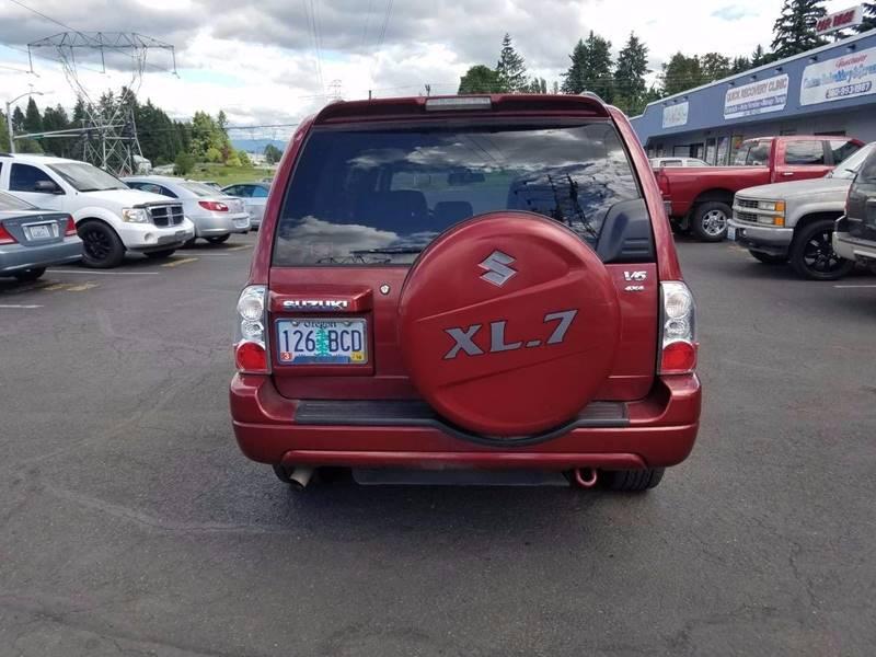2004 Suzuki XL7 EX 4WD 4dr SUV - Vancouver WA