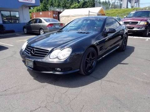 Mercedes benz sl class for sale for Mercedes benz vancouver wa