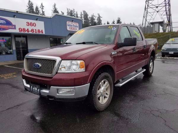 2005 Ford F-150 4dr SuperCrew Lariat 4WD Styleside 5.5 ft. SB - Vancouver WA