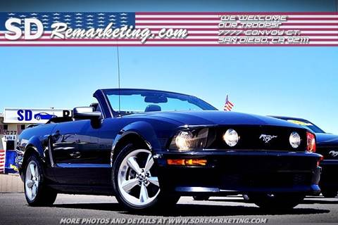 2007 Ford Mustang for sale in San Diego, CA