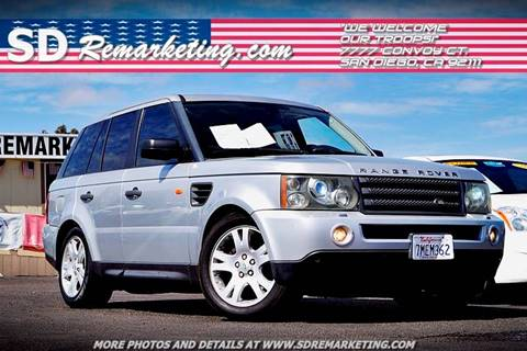 2006 Land Rover Range Rover Sport for sale in San Diego, CA