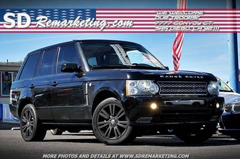 land rover for sale in san diego ca. Black Bedroom Furniture Sets. Home Design Ideas