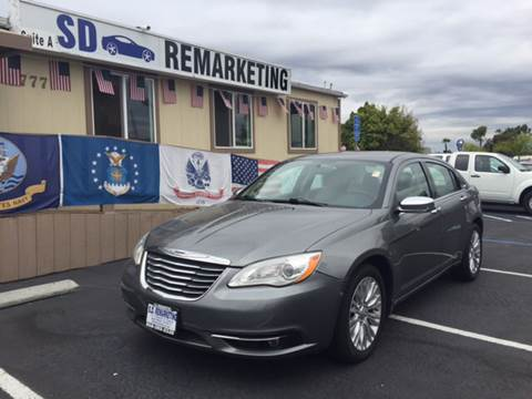 2011 Chrysler 200 for sale in San Diego, CA