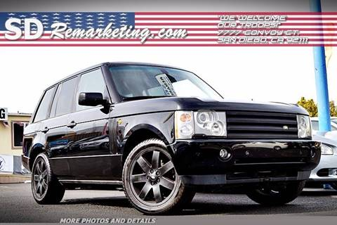 2005 Land Rover Range Rover for sale in San Diego, CA